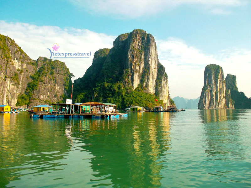 HALONG BAY DELUXE TOUR – 4 HOURS ON CRUISE