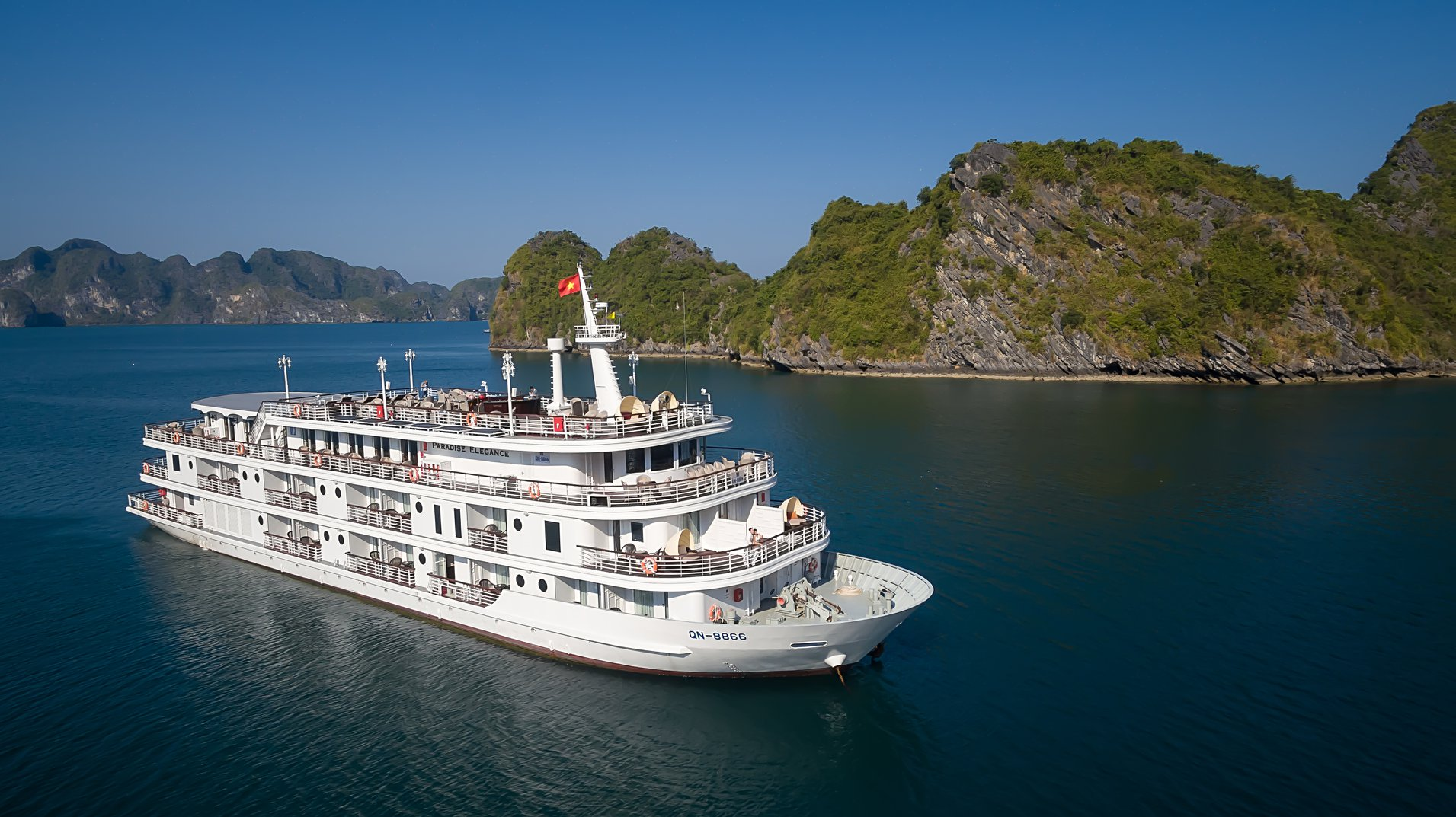 HALONG PARADISE ELEGANCE CRUISE ( 2 DAYS – 1 NIGHT )