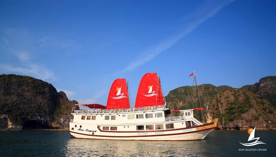 Ha Long Bay Sun Legend Cruise 3 Days 2 Nights