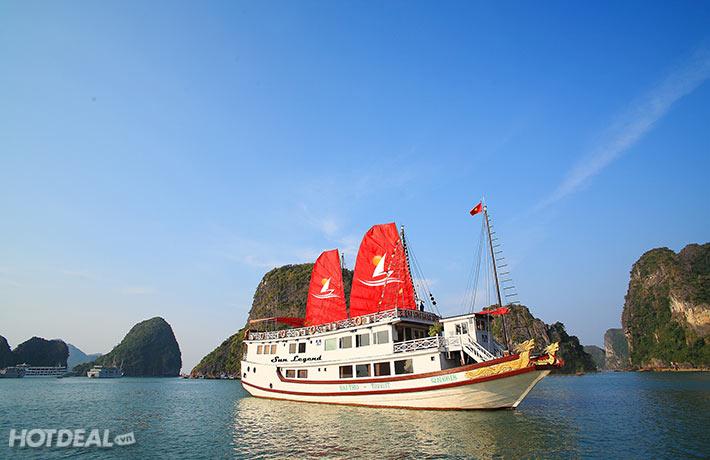 Ha Long Bay Sun Legend Cruise 2 Days 1 Nights